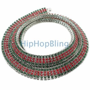 green-red-4-row-iced-out-chain-24