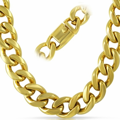 costume fresh fake jewelry gangster pimp necklace inspirational chains of novelty gold