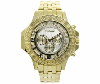 Look Fresh And Be On Time With A Gold Bling Bling Watch From Hip Hop Bling