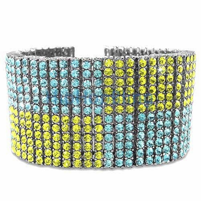 Make Your Bling Pop With Color Ice Bracelets From Hip Hop