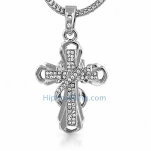 Ribbon Bling Cross
