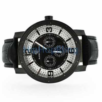 Hip Hop Bling's Techno Pave Contemporary Watches Are A High-Fashion Piece of Bling