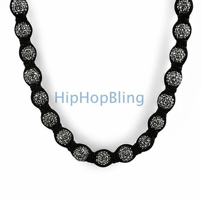Dress Funky Fresh With A Disco Ball Necklace From Hip Hop Bling