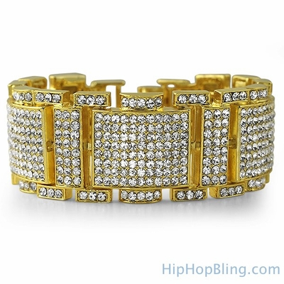 Stand Out With Gold Hip Hop Bracelets From Hip Hop Bling