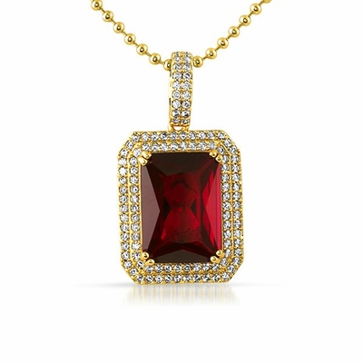 Be The King Of Bling With Gem Pendants From Hip Hop Bling
