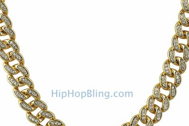 Roll In Iced Out Chains And Look As Fresh As The Holiday Season When You Order From Hip Hop Bling