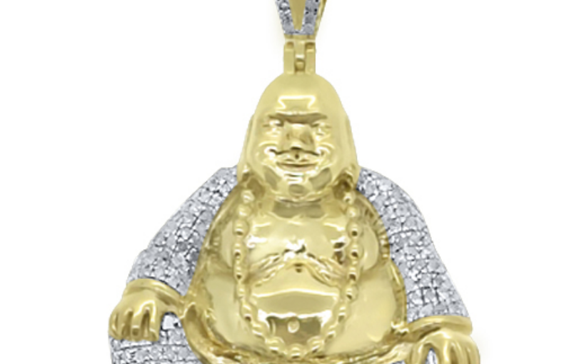 Buy Our Hot Blingy Sitting Buddha Diamond Pendant