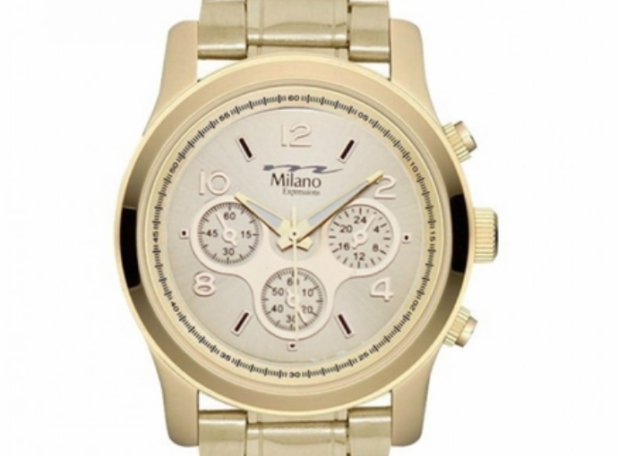 Add Some Bling To Your Wrist With A New Polished Gold Watch