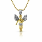 Have An Angel Watch Over You This Christmas With A Bling Bling Cherub Pendant