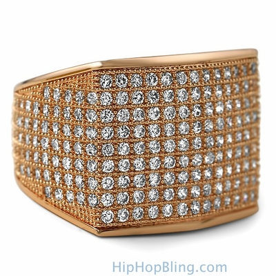 Fresh Iced Out Rings From Hip Hop Bling Will Help You Flaunt Your Style