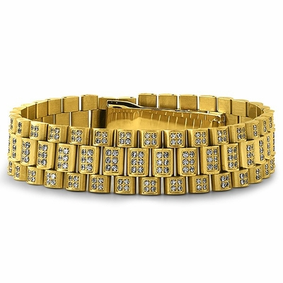 Flash Your Swagger With The Hottest Hip Hop Bracelets From Hip Hop Bling