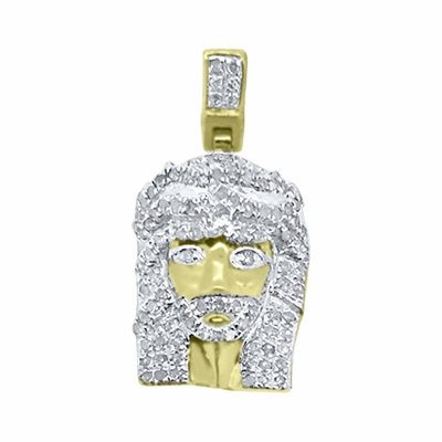 Iced Out Jesus Pendants From Hip Hop Bling Can Help You Rep For Less