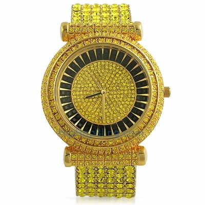 Roll In Premium Bling Bling Watches When You Order Online From Hip Hop Bling