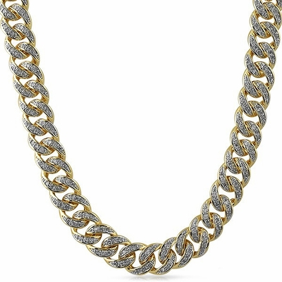 Iced Out Chains From Hip Hop Bling Can Help You Look Fresh For Less