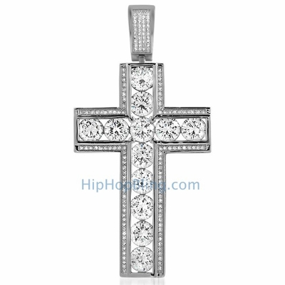 Look Like A King And Rep The Lord With Iced Out Pendants From Hip Hop Bling