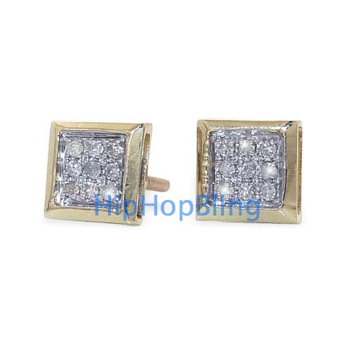 Everyone Will See You Coming With Iced Out Earrings From Hip Hop Bling