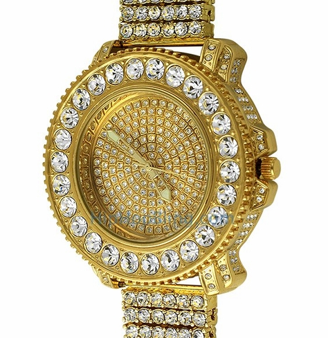 Get Flashy Iced Out Watches And Tell Time in Style