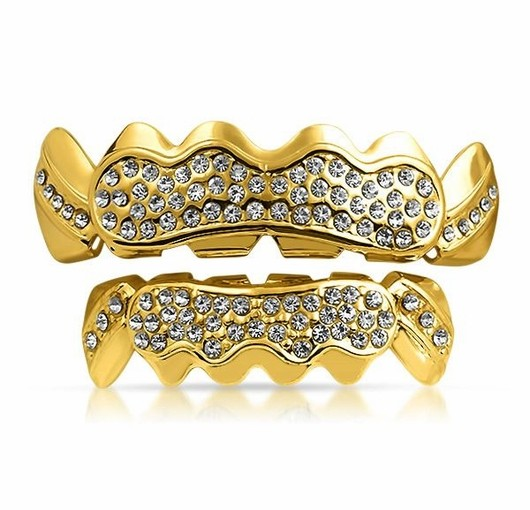 Set An Image To Remember With Iced Out Grillz Sets From Hip Hop Bling