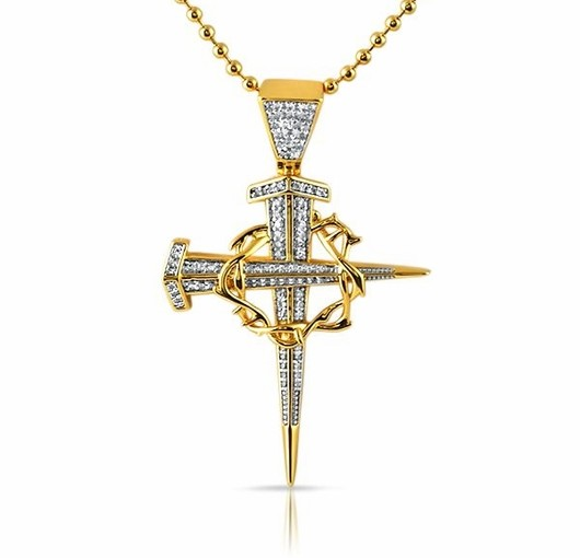 Grab Iced Jesus Pieces And Bling Pendants For Less From Hip Hop Bling