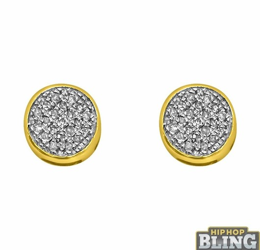Iced Out Earrings For Sale From Hip Hop Bling Will Make Sure You Grab All Eyes
