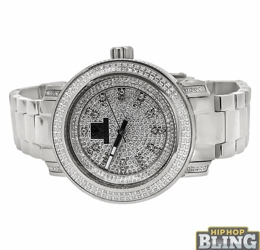 Roll Like French Montana In Iced Diamond Watches From Hip Hop Bling