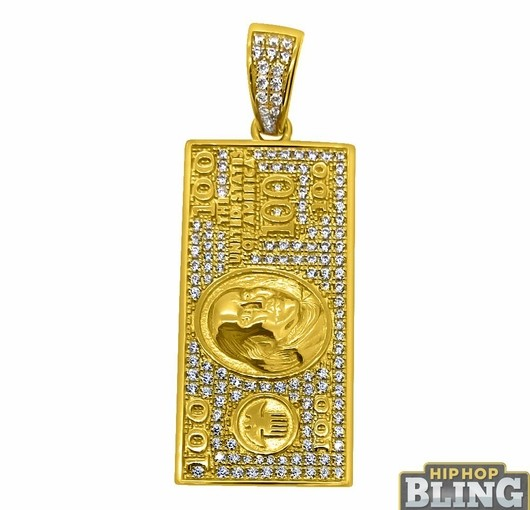 Represent Like Drake Down At The Club With New Bling Pendants For Less