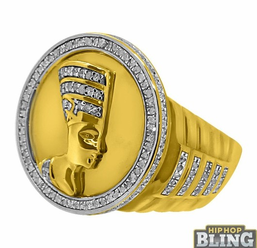Make Sure That All Eyes Are On You With Big Money Iced Rings From Hip Hop Bling