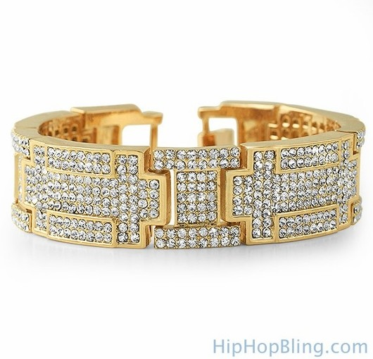 Let The World Know What You're About With Big Money Bling Bracelets