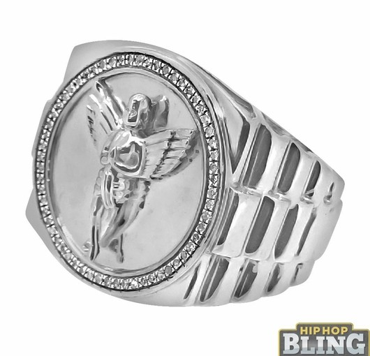 Bling Bling Rings From hip Hop Bling Will Turn Heads At The Club