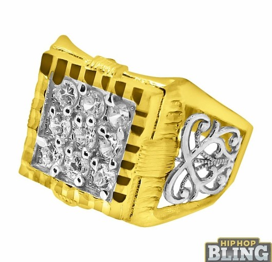 Gold And Diamond Iced Out Rings From Hip Hop Bling Will Have You Repping Like The Big Names