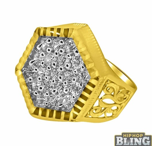 Hip Hop Diamond Rings From Hip Hop Bling Will Turn Up Your Swagger