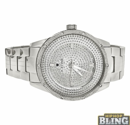 Bling Diamond Watches From Hip Hop Bling Are The Hottest Pieces Online