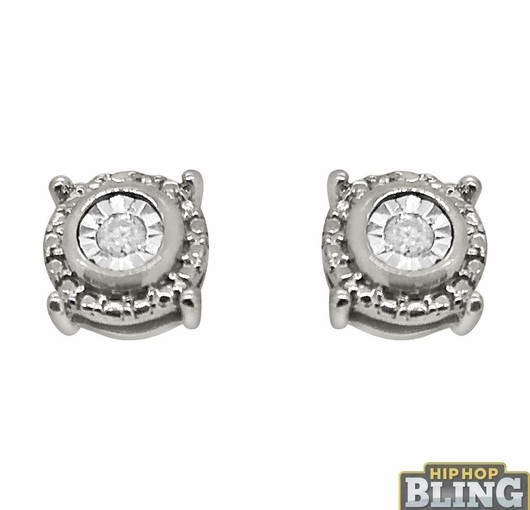 Diamond Earrings And Bling Earrings From Hip Hop Bling Are The Hottest Pieces Online