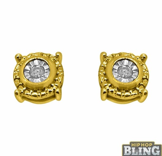 Show Off Your Swagger And Roll Like French Montana When You Grab Iced Out Earrings