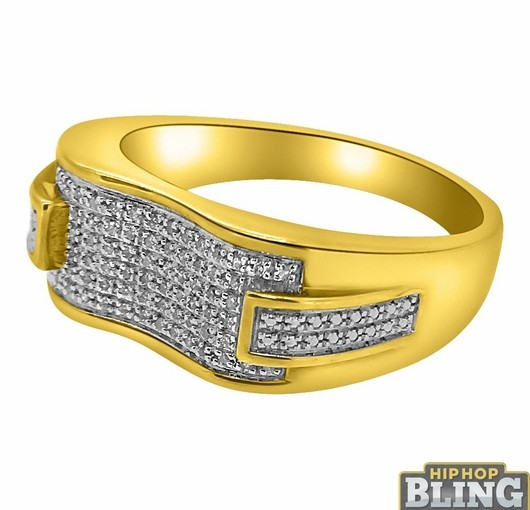 Roll In The Hottest Iced Out Rings For Sale Today When You Order From Hip Hop Bling