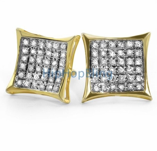 Diamond Bling Earrings From hip Hop Bling Will Have You Repping Like Drake Down At The Club