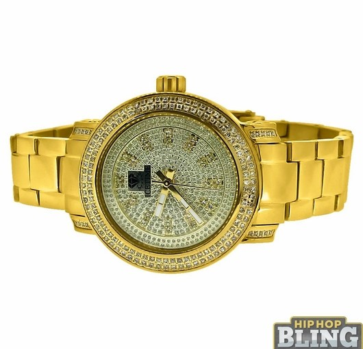 Represent Like Kendrick Lamar In A New Iced Out Diamond Watch Today