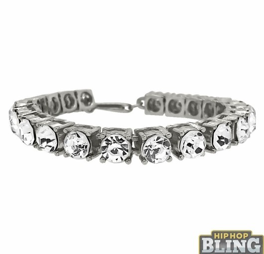 Roll Up In A Brand New Iced Out Bracelet From Hip Hop Bling And Save On Your Style