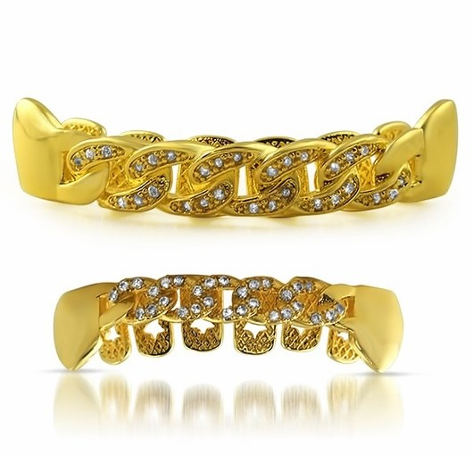 Bling Diamond Grillz From Hip Hop Bling Will Have You Repping Like Your Favorite Lyricist