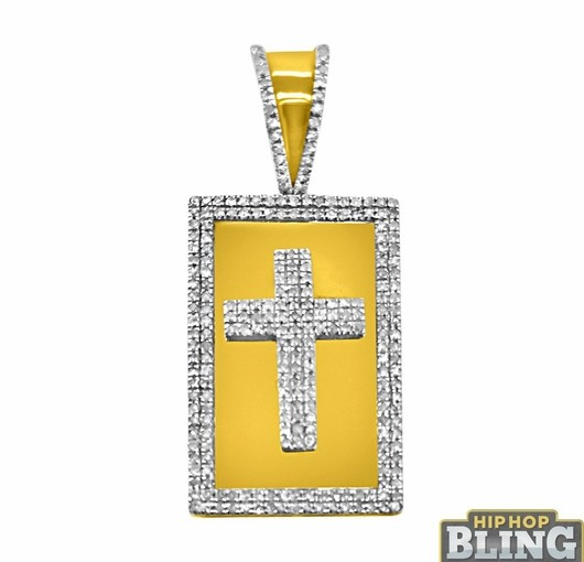 Gold And Diamond Bling Pendants From Hip Hop Bling Will Have You Repping Like Yeezy