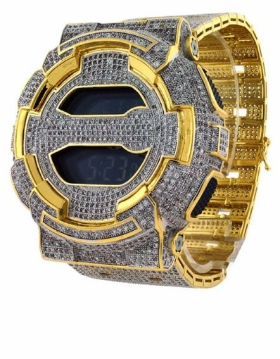 Show Up In A Brand New Diamond Watch For To Rep Like Migos For Less