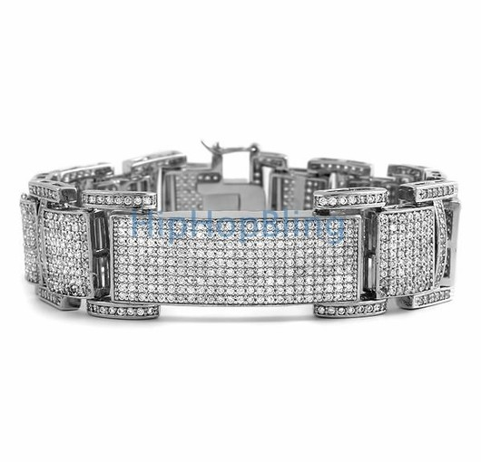 Hip Hop Bracelets Show Up In A Brand New Iced Out Bracelet For Less Roll Like The