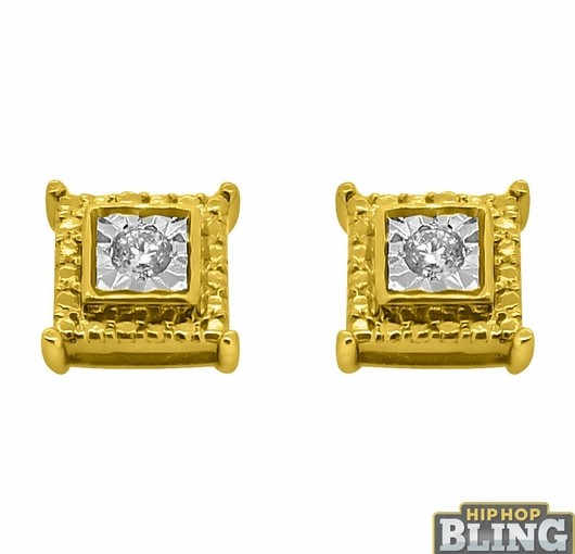 Show Off Your Style With Iced Out Earrings From Hip Hop Bling