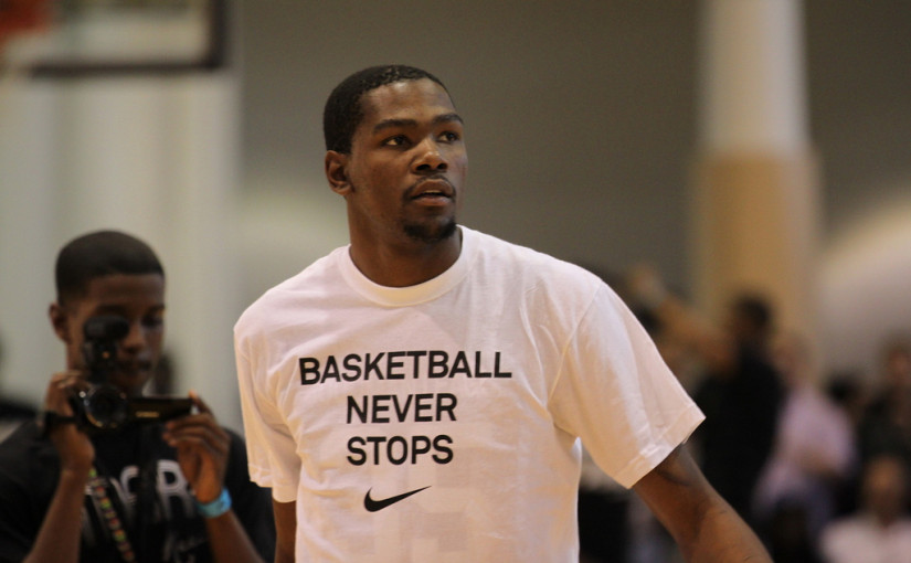 Kevin Durant Named GQ Magazine's Champion Of The Year